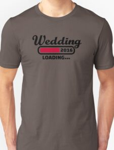 Wedding 2016 T-Shirt