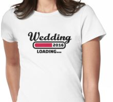Wedding 2016 Womens Fitted T-Shirt