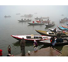 Dawn on the Ganges Photographic Print