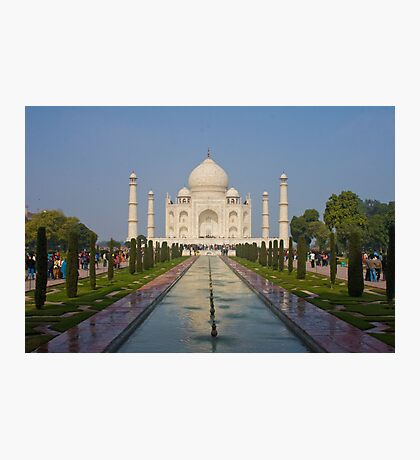 Taj Mahal! Photographic Print