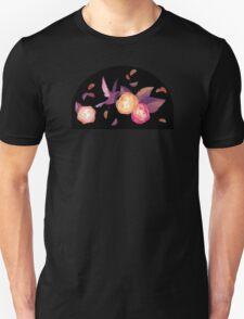 Black Birds 'n Roses Unisex T-Shirt