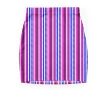 Striped colours Mini Skirt