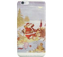 The Happy Heart Family Virginia Gearson 1907 0085 A Great Big Sleight and Santa Clause iPhone Case/Skin