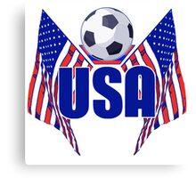 USA Soccer Canvas Print