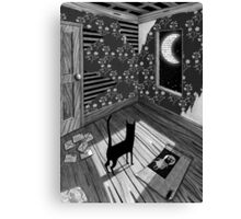 Paper Moon Canvas Print