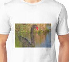 Sunset Swan Unisex T-Shirt