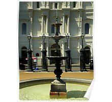 Jackson Square : De Gaulle Fountain Poster
