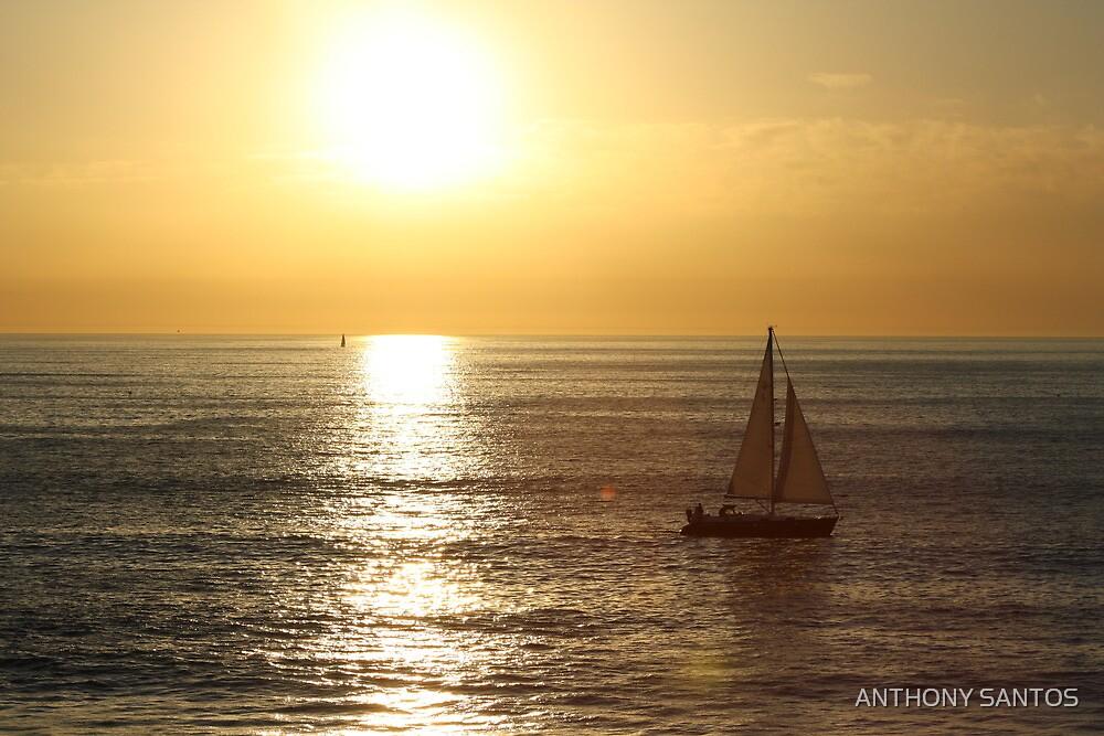Redondo Beach Sunset by ANTHONY SANTOS
