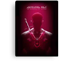 Axtelera Ray - red Canvas Print
