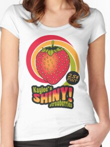Shiny Berries Women's Fitted Scoop T-Shirt