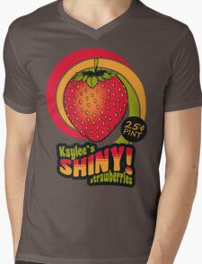 Shiny Berries Mens V-Neck T-Shirt