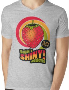 Shiny Berries Mens V-Neck T-Shirt