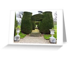 Topiary! Greeting Card