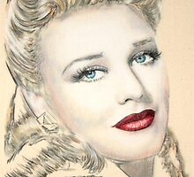 Ginger Rogers by Peter Brandt
