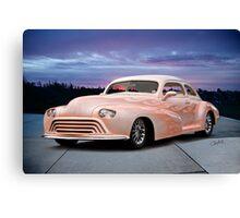 1946 Oldsmobile 'Custom' Sedanette 3Q Front Canvas Print
