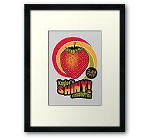Shiny Berries Framed Print