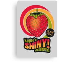 Shiny Berries Canvas Print