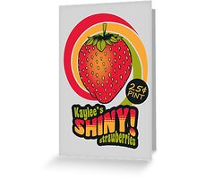 Shiny Berries Greeting Card