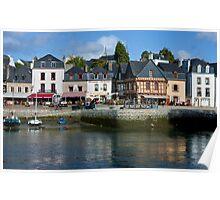 Port of St Goustan  - Brittany, France Poster