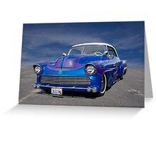 1951 Chevrolet Custom Bel Air I Greeting Card