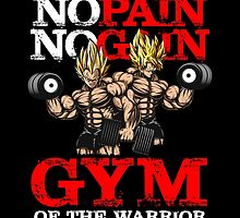 gym of the warrior by MAKTM