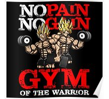 gym of the warrior Poster
