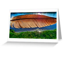 Of a Feather 4 Greeting Card