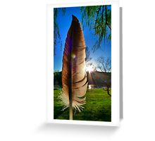 Of a Feather Greeting Card