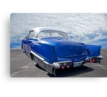 1951 Chevrolet 'Custom' Bel Air II Canvas Print