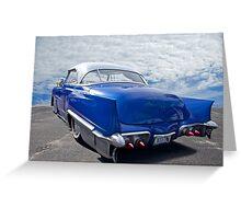 1951 Chevrolet 'Custom' Bel Air II Greeting Card