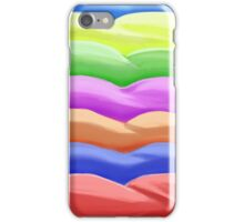 Abstract Colorful ice cream dunes iPhone Case/Skin