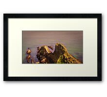 A ocean view from Mevagissey Framed Print