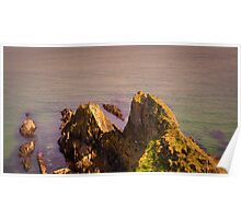 A ocean view from Mevagissey Poster
