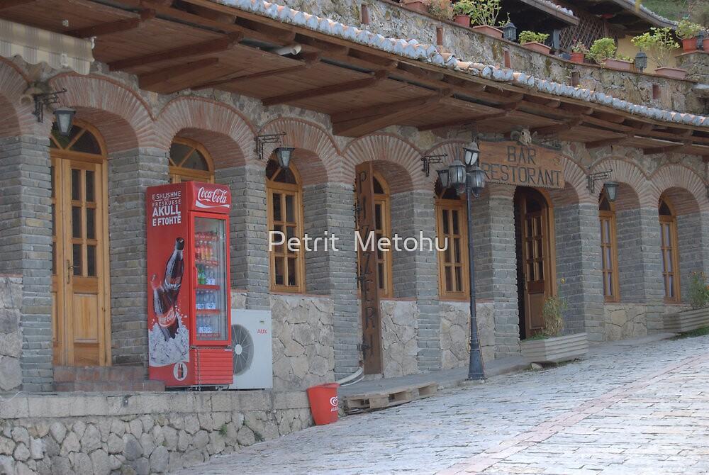 Kruja historic city of Albania by Petrit  Metohu