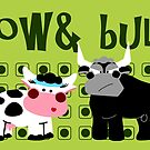 Cow & Bull by Sonia Pascual