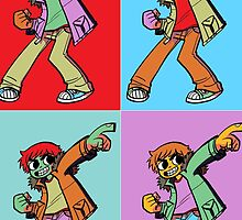 Scott Pilgrim Pop Art by AndersonRT