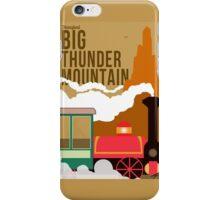 Big Thunder Mountain Poster iPhone Case/Skin