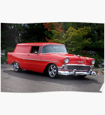 1956 Chevrolet Sedan Delivery I Poster