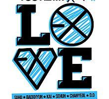 EXO XOXO by skeletonvenus