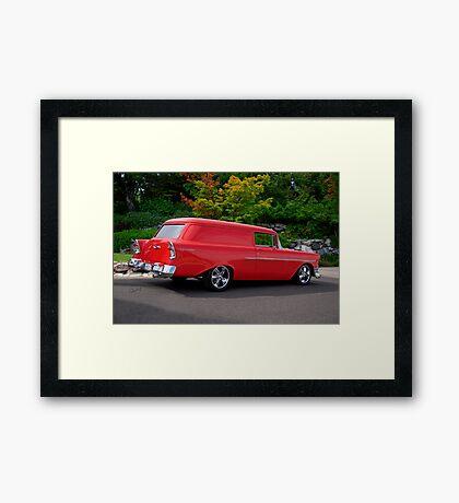 1956 Chevrolet Sedan Delivery VI Framed Print