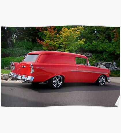 1956 Chevrolet Sedan Delivery VI Poster