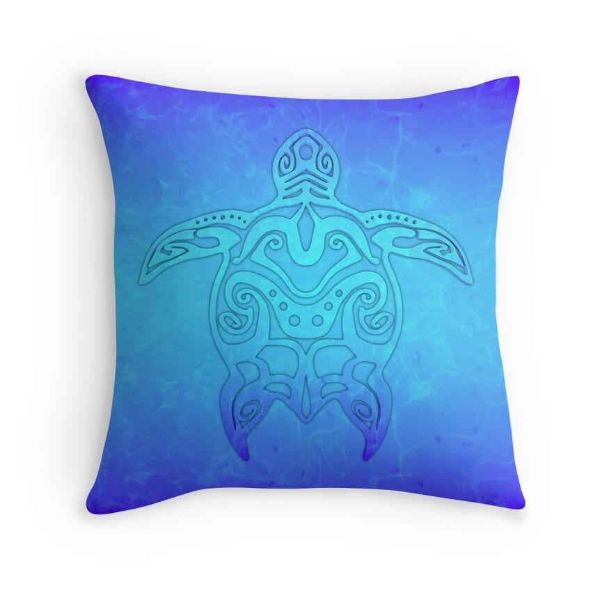 Ocean Blue Decorative Pillows :