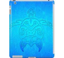 Tribal Turtle Ocean Blue iPad Case/Skin