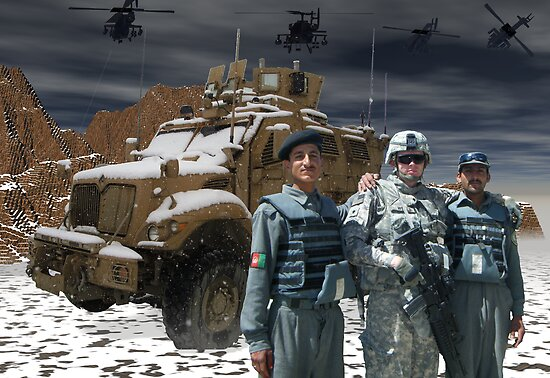 Operation Enduring Freedom - Joint Task Force Geronimo unmat by Sazzart