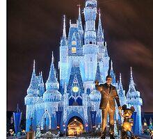 Cinderella Castle Dream Lights by zmayer