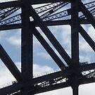 Sydney Bridge Climbers by Eldon Ward