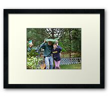 Silly But Cute Framed Print