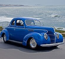 1938 Ford Deluxe Coupe I by DaveKoontz