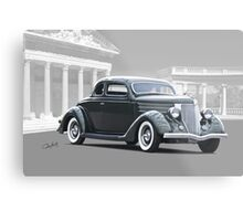 1936 Ford Deluxe Coupe II Metal Print