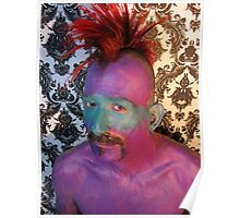Purple man Poster